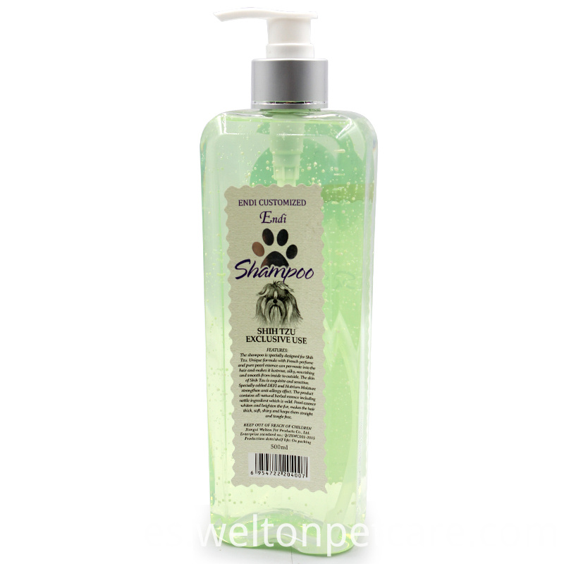 private label natural dog shampoo
