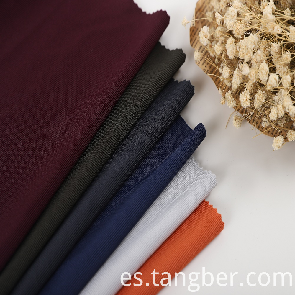 polyester spandex fabric