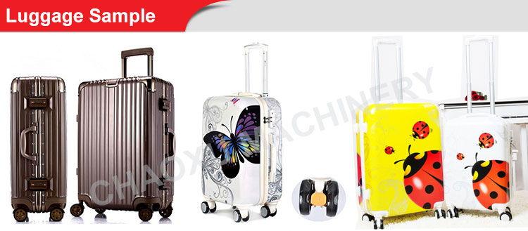 High Efficiency Plastic Luggage Suit Case Luggage Vacuum Forming Machine