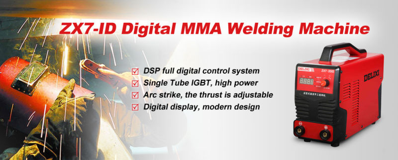 Delixi 2014 Newest Digital DC Arc Welder