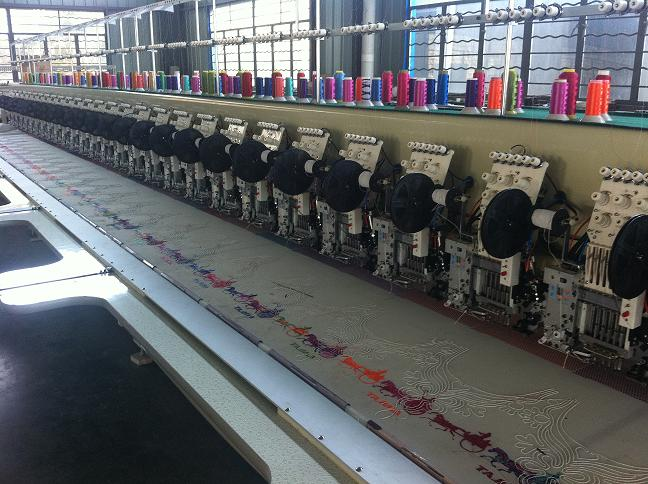24 Head Cording and Sequin Computerize Embroidery Machine
