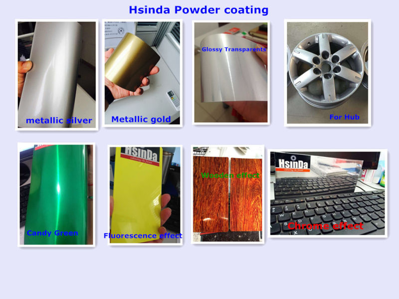 China Factory Sample Available Ral Color Powder Paint Coating