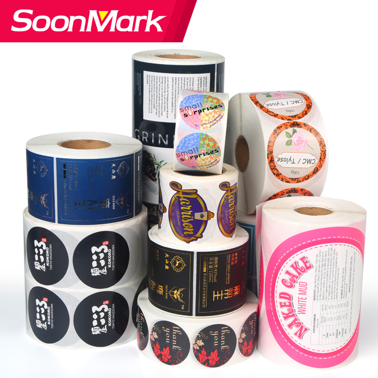 Self Adhesive Custom Packaging Label