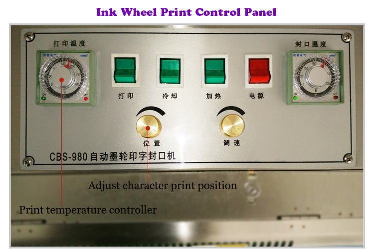 Plastic Bag Continuous Sealing Machine Continue Sealer with Nitrogen and Oxygen Filling for Cake Rice and Daily Commodity