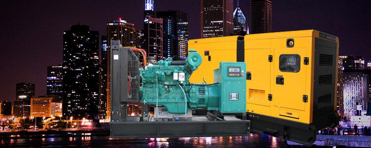 Prime Power 900kVA/720kw at 50Hz Powered by Original Cummins Diesel Engine Sound Proof 20 Foot Container Diesel Generator