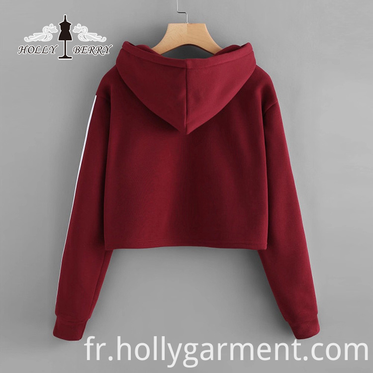 Stylish Embossed Sweatshirt