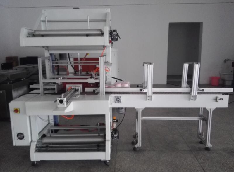 Full Automatic Sleeve Sealing Shrink Wrapping Machine
