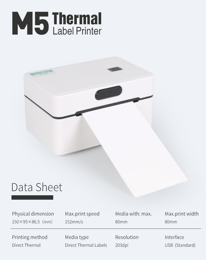 M5 thermal label printer 7