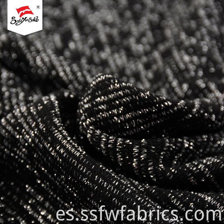 Luxury Silver Polyester Fabric Wholesale