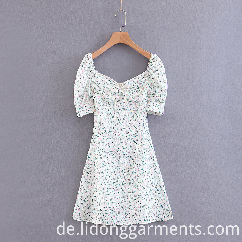 Women Flower Dress