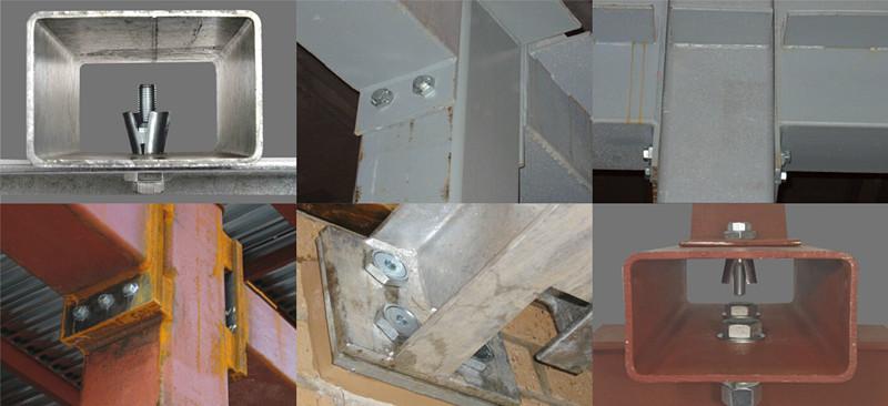 M12 Expansion Bolt Boxbolt for Structural Steel