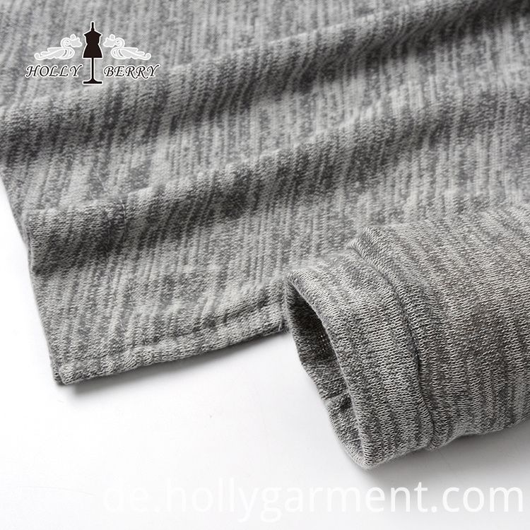 Breathable Gray Sweatshirt