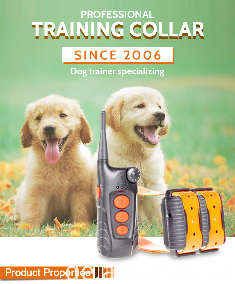 Electronic Training Anti Bark Collar AT-918C