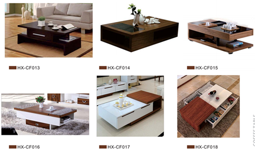 Small Side Wooden Tea Coffee Table (HX-CT0109)