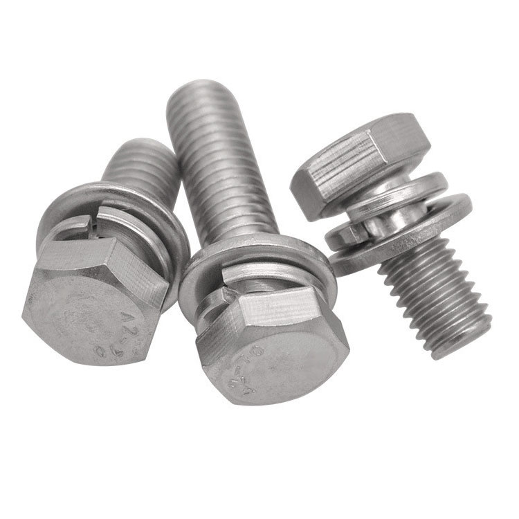 Stainless Steel Hex Bolt and Washers