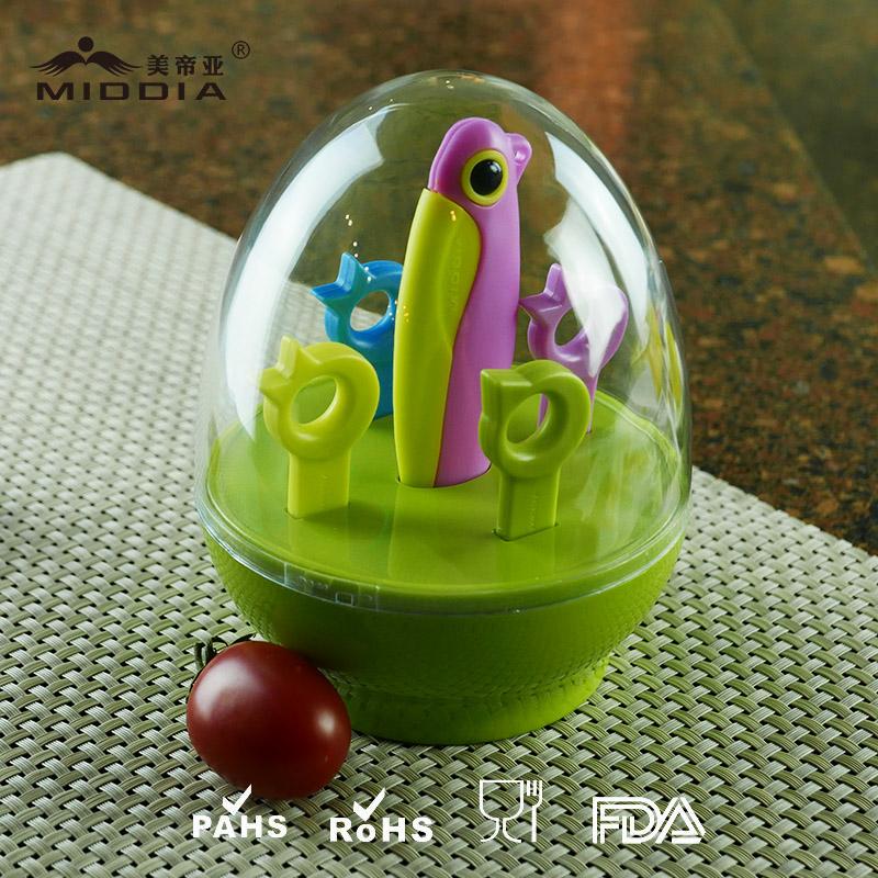 Promotional Items/Christmas Gift for Ceramic Folding Knife/Forks/Fruit Tool Set