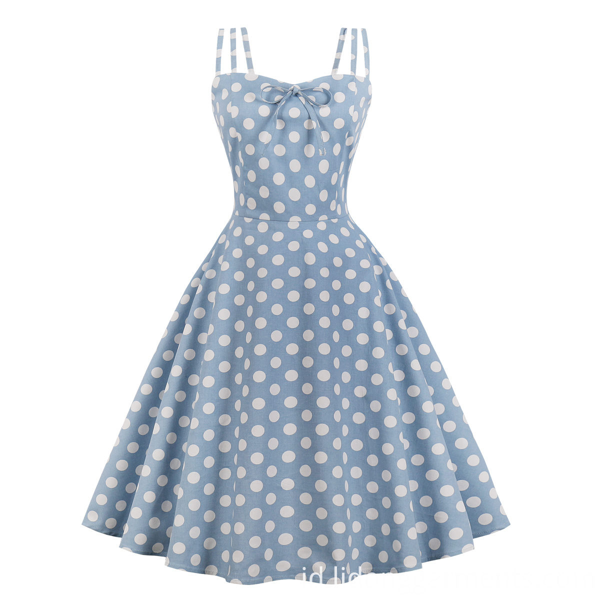 Retro 50s Polka Dot Dress