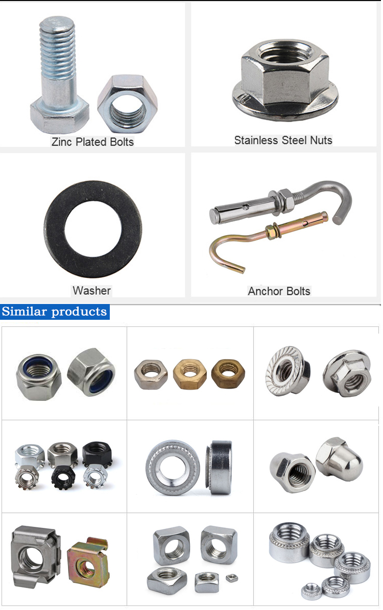 Stainless Steel Self Locking Counter Nuts