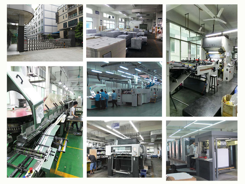 Customzied Art Paper Saddle Stitching Production Brochure Printing