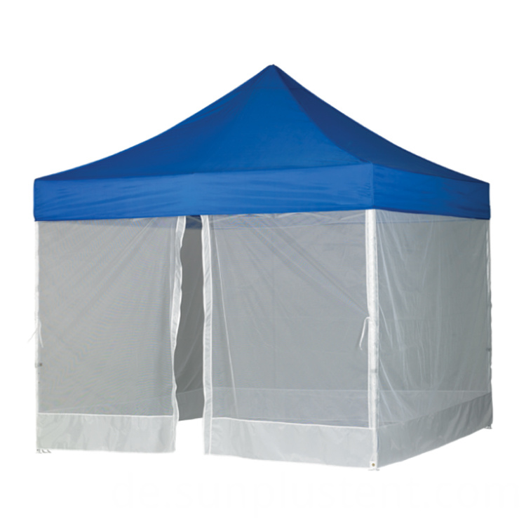 single zipper door mesh tent