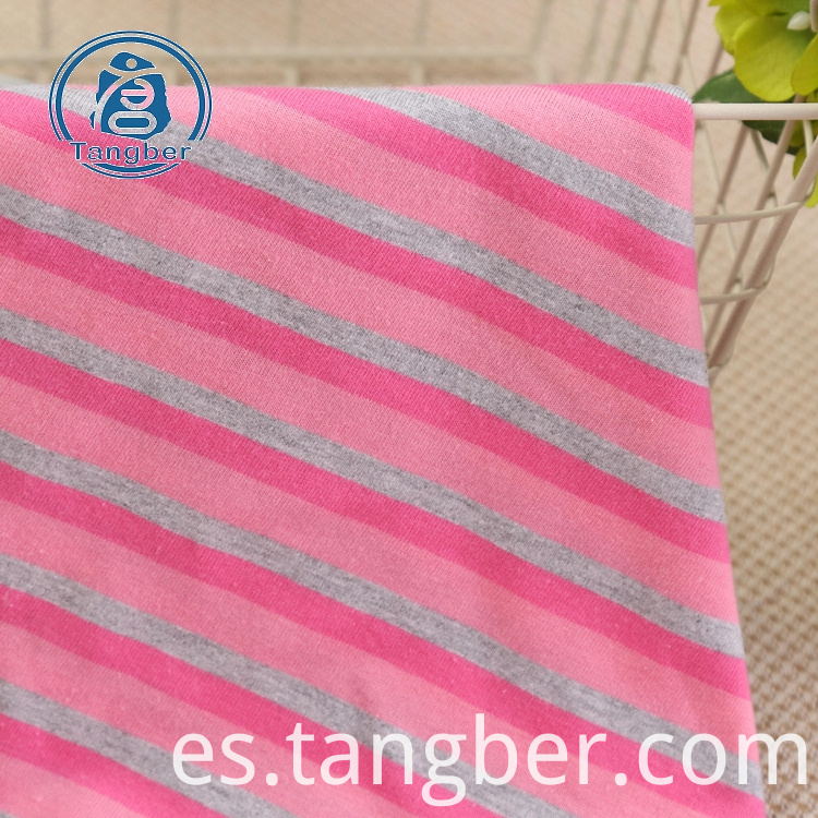 Cotton Yarn Dyed Knitting Fabric