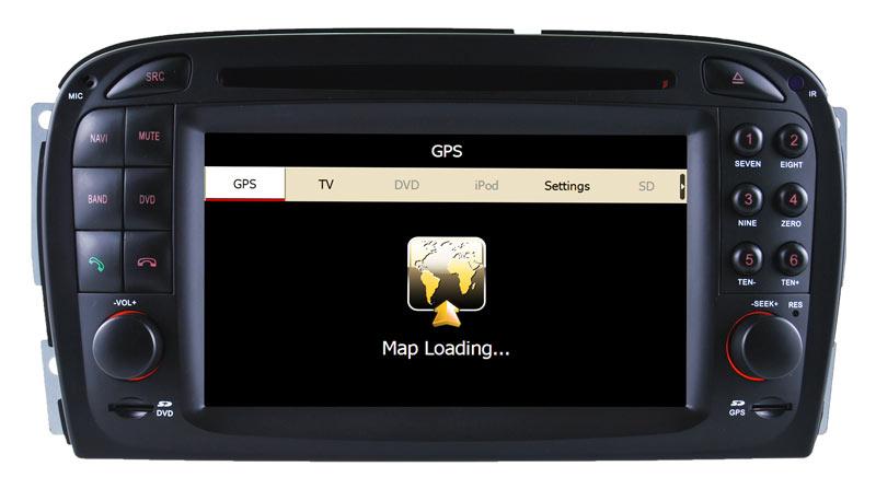 Car Video for Mercedes Benz SL R230 DVD Navigation