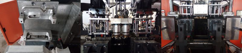 HDPE Jar Blow Moulding Machine / Blow Molding Machine / Plastic Machinery