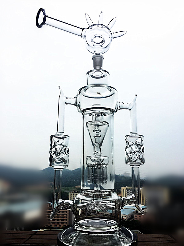 Hbking New Design Glass Water Pipes, Tobacco Glass Smoking Pipes, Hand Water Pipes