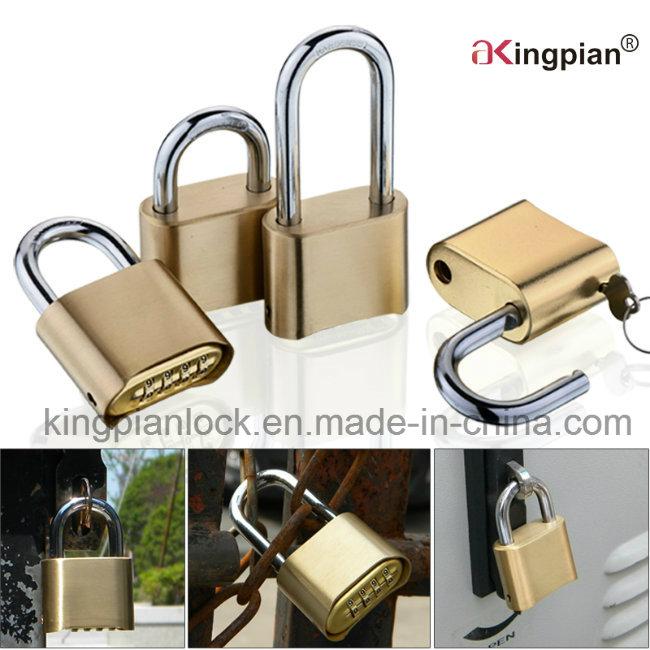 50mm 4 Digital Bottom Code Resettable Combination Lock
