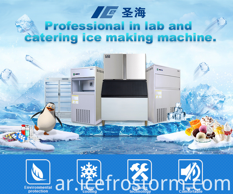 under counter irregular ice maker