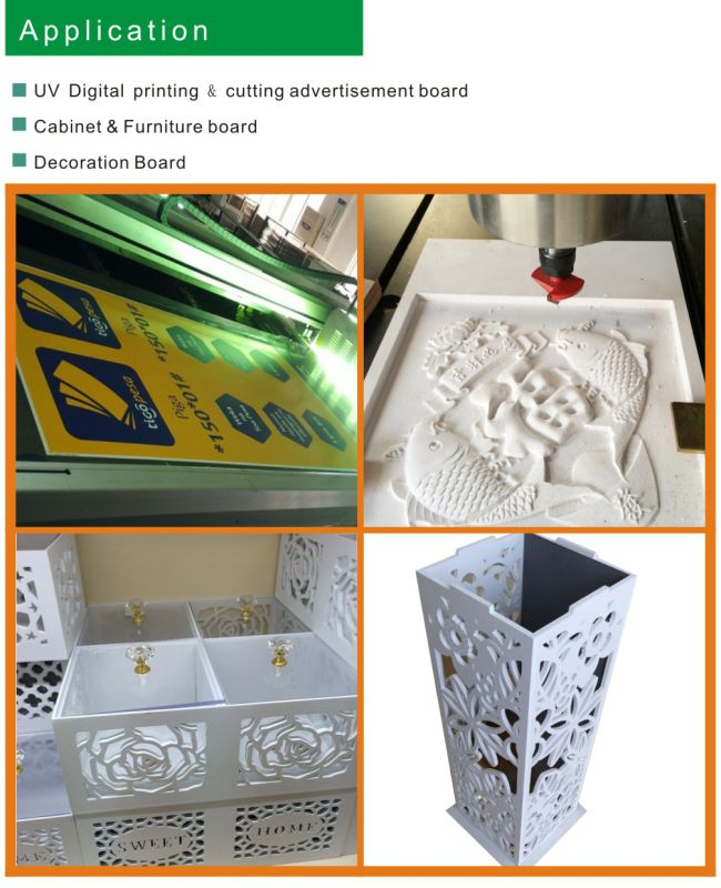 PVC Cabinet Celuka Sheet Factory (thickness: 18mm*1.22m*2.44m*0.55g/cm3)