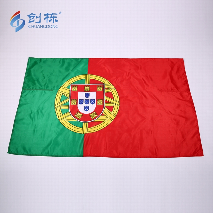 Custom Polyester Satin Printing Spain National Body Flag