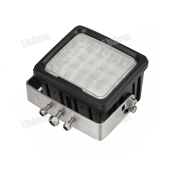Waterproof 160mm 12V-24V 100W CREE LED Agricultural Machinery Lamp