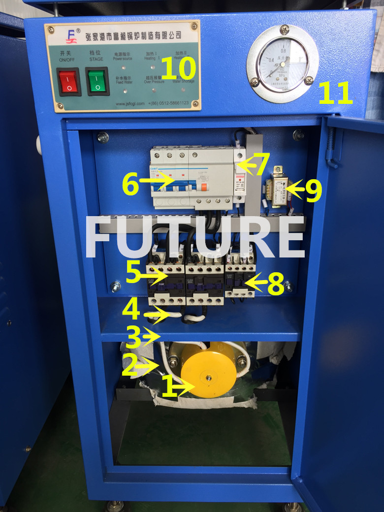 Automatic Electric Steam Boiler for Steamed Meat and Meals