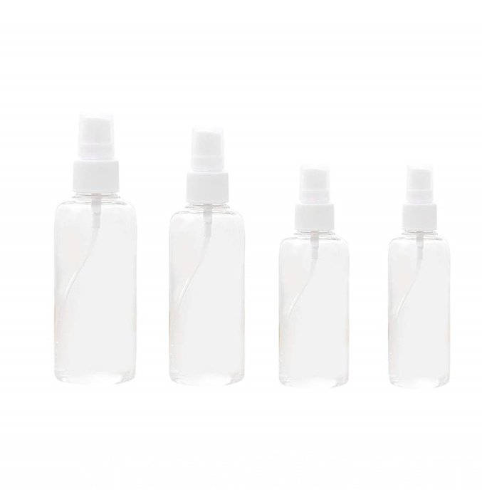 50ml clear PET bottle