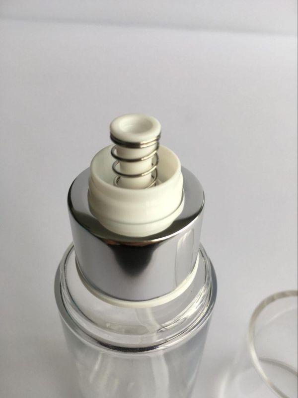 80ml Heavy Walled Pet Lotion Bottle W/ Over Cap (EF-09080)