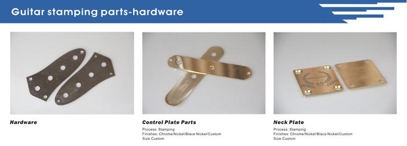 CNC Machining Guitar Parts