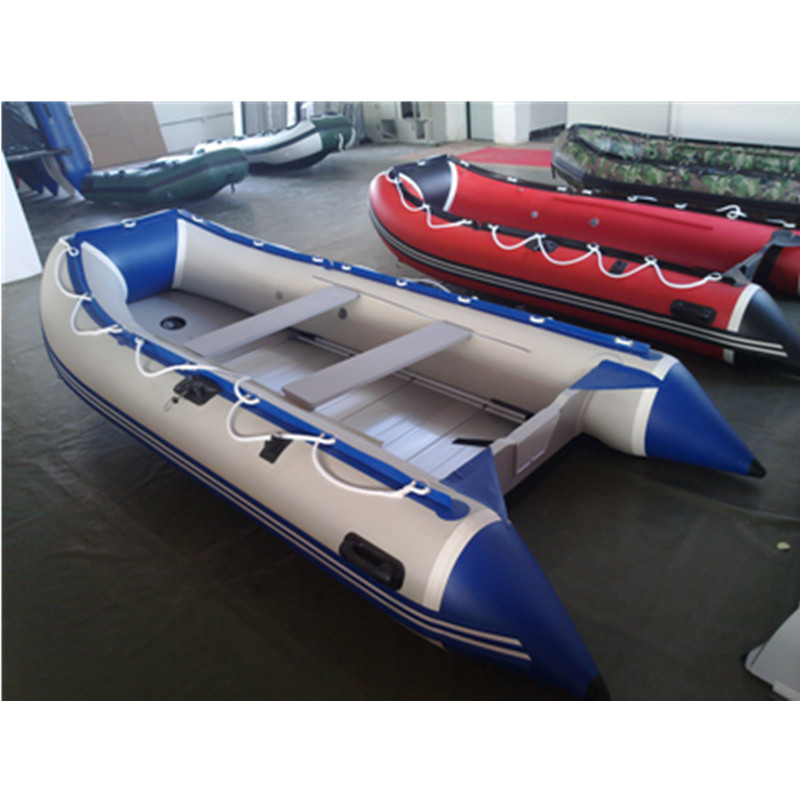 Ce 3.6m China PVC Foldable Inflatable Motor Boat