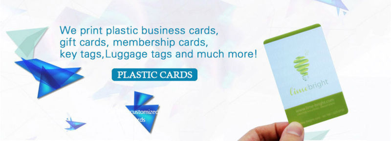 Transparent Plastic PVC Business Card