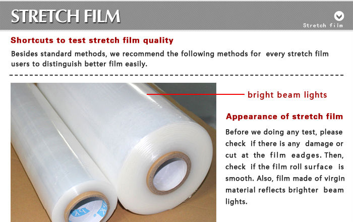 Stretch Film Jumbo Roll Packaging Film