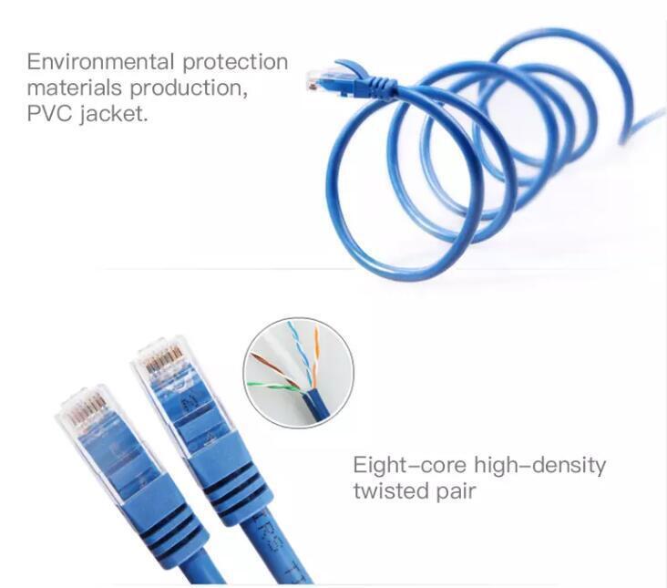 Câble de raccordement Cat5e / Cat 6, UTP / FTP / SFTP, conducteur cuivre / CCA / CCS