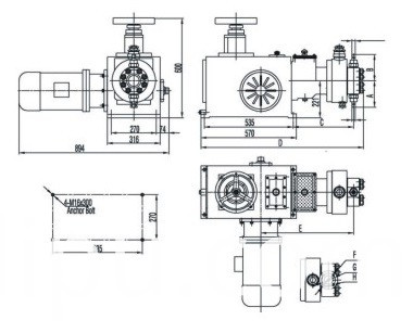 Double Diaphragm Metering Pump