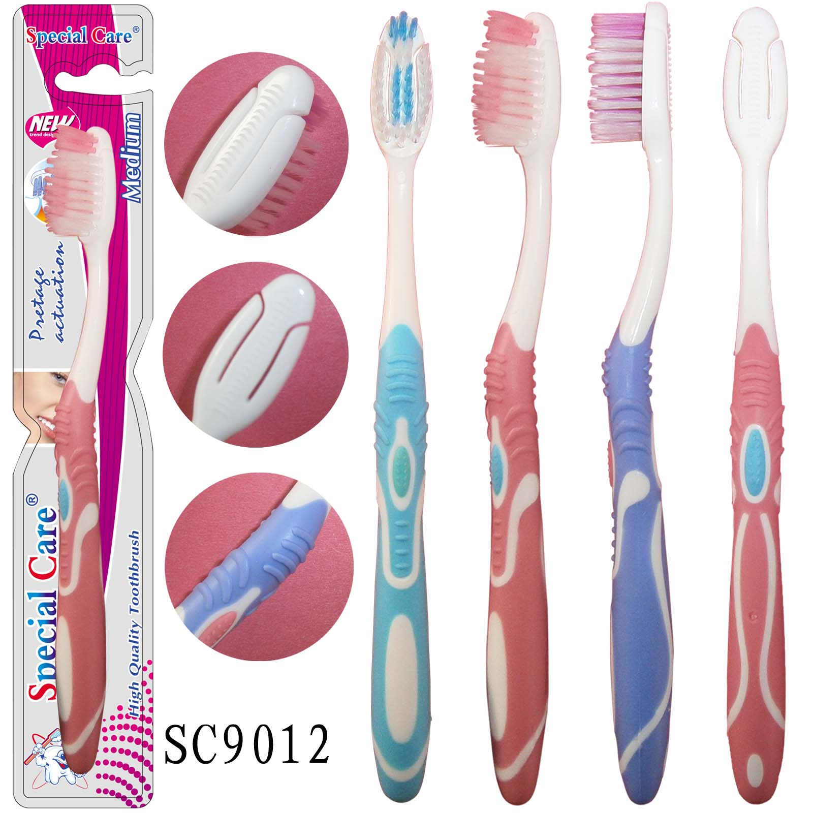 Popular Soft Adult Couples Toothbrush