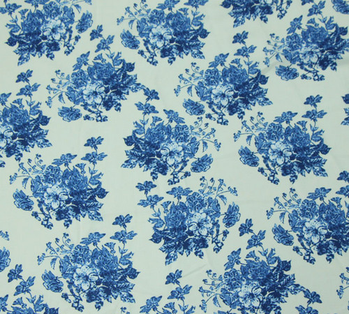 Porcelain Design Printed Fabric