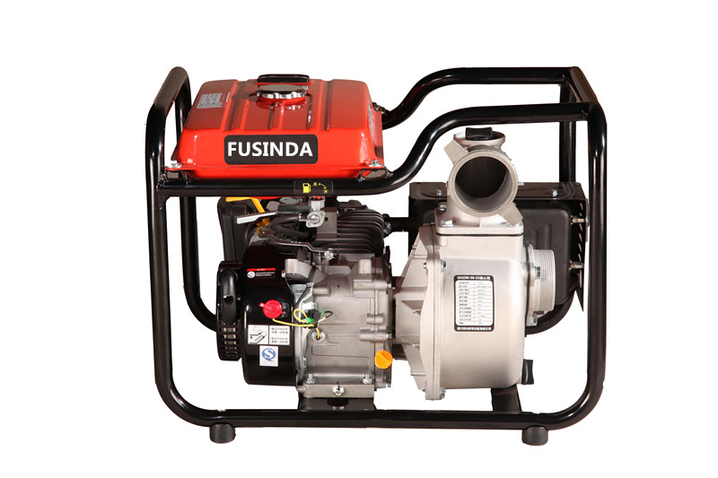 4 Inch Gasoline Water Pump with Large Fuel Tank