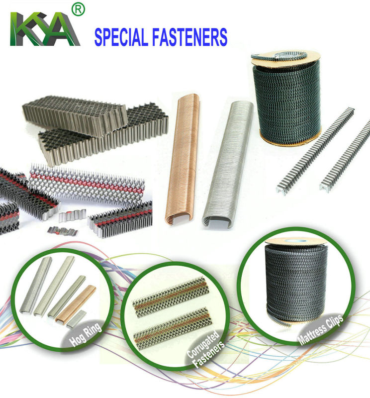 M66 Series Wire Clips for Mattress Making
