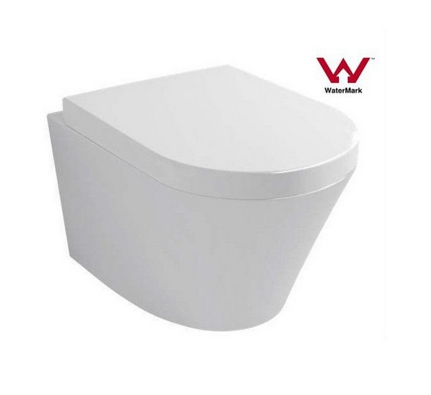 Watermark Bathroom Washdown Two Piece Wall Hung Toilet (6013)