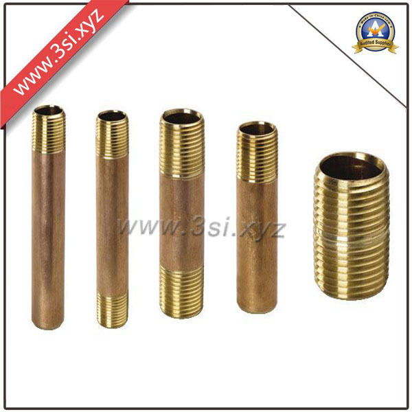 Top Quality ANSI B 16.11 Copper Male Thread Barrel Nipple (YZF-NM560)