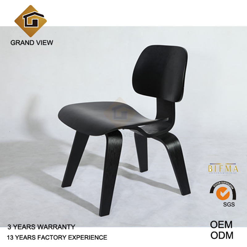 Classical Ash Wood Lounge Chair for Hotel (GV-LCW1945)