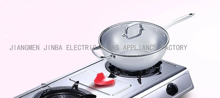 3 Burners Nonstick 710mm Length Honeycomb Gas Cooker/Gas Stove